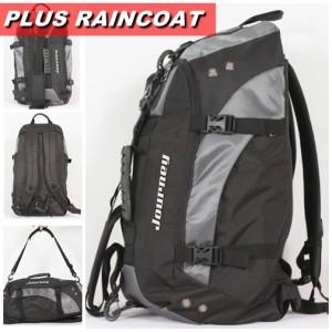 Tas Pakaian Multifungsi Journey ROXION [ Abu ] + Raincoat