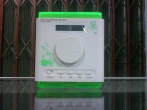 Music Cube - Portable Digital Speaker Mini Speaker with FM -