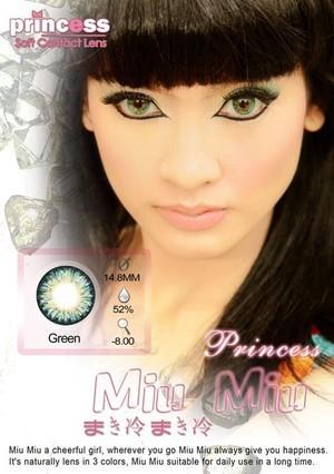 Princess MiuMiu GREEN - TERMURAH DIJAMIN ORIGINAL!