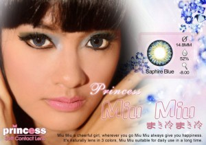 TERMURAH DIJAMIN ORIGINAL! - Princess MiuMiu BLUE