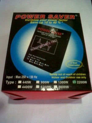 PENGHEMAT LISTRIK / CAPASITOR BANK POWER SAVER Type 2200w