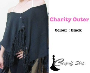CODE : Charity Outer Black