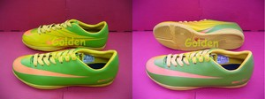 Sepatu Futsal Nike Mercurial Victory Green Orange