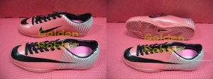 Sepatu Futsal Nike Mercurial Elite Red Silver