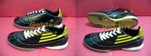 Sepatu Futsal Adidas F50 Black Yellow