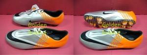 Sepatu Outdoor Nike Mercurial Elite Silver Orange 002