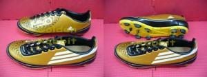 Sepatu Outdoor Adidas F50 Gold