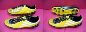 Sepatu Outdoor Adidas F50 Yellow