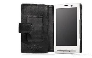 Capdase Original Leather Case Bifold Sony Ericsson X-10
