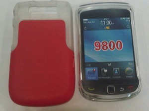 Softjacket Blackberry 9800 Torch Merah