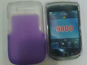 Softjacket Blackberry 9800 Torch Ungu