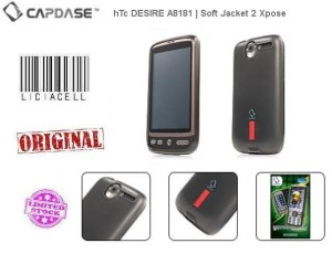 Capdase Softjacket 2 Xpose For HTC Desire A8181 Softbank X06HT Black