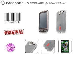 Capdase Softjacket 2 Xpose For HTC Desire A8181 Softbank X06HT White