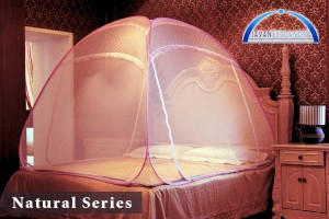 Bed Canopy Natural Series Single (120x200x130cm)