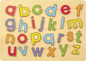 WT-3121 Medium Puzzle - Small Letter Alphabets