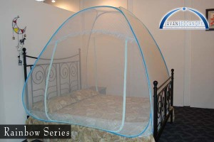 Bed Canopy Rainbow Series Single (120x200x130cm)