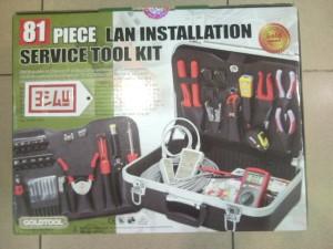 GOLDTOOL 81 PCS LAN & CPU Installation Service Tool Kit