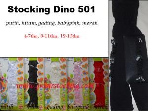 Stocking Anak Dino Tipe 501 Untuk  4 - 15 Tahun