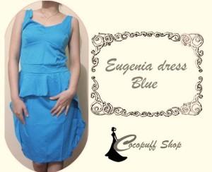 CODE : Eugenia Dress Bue (IMPORT)