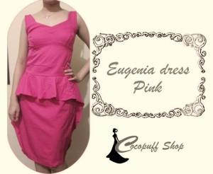 CODE : Eugenia Dress Pink (IMPORT)