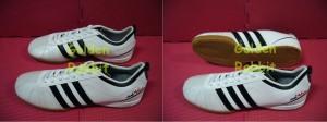Sepatu Futsal Adidas Adinova White Black