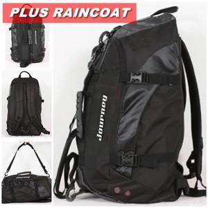 Tas Pakaian Multifungsi Journey ROXION [Hitam] + Raincoat
