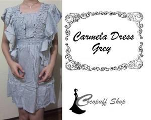 CODE : Carmela Dress Grey
