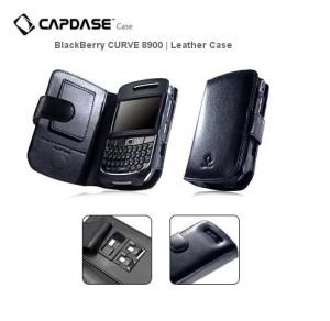 Capdase Leather Case Bifold Blackberry Javeline 8900