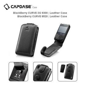 Capdase Leather Case Fliptop Blackberry 8520 9300 Gemini