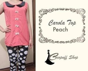 CODE : Carola Top Peach