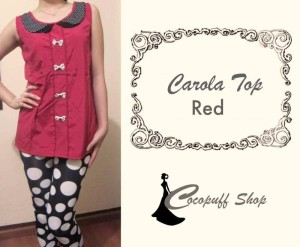 CODE : Carola Top Red