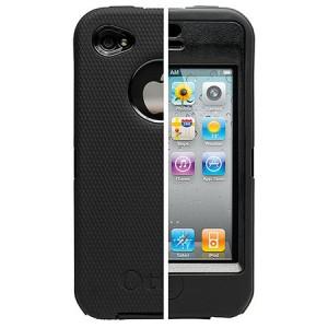 Promo Otterbox Defender iPhone 4 Black Murah