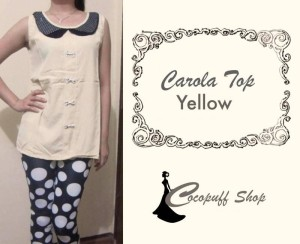 CODE : Carola Top Yellow