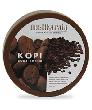 Mustika Ratu - Coffee Body Butter