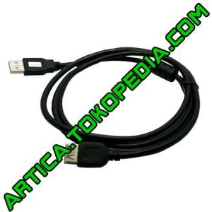 Kabel extention USB2.0 3m black