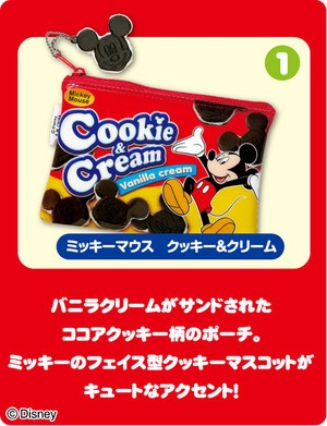RE-MENT DISNEY SNACK POUCH MASCOT- MICKEY