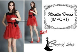 CODE : Nicolia Dress (IMPORT)