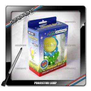 Flower Projector Lamp - Blue
