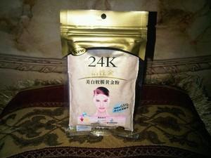 Masker Wajah Bubuk Emas 24K Liyanshijia