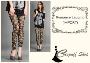CODE : Romance Legging (IMPORT)