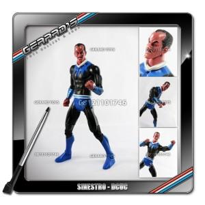 Sinestro Blue - DCUC - Mattel - Loose