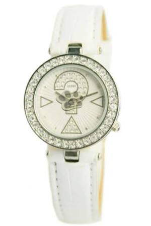 GUESS MARK DIAMOND LEATHER