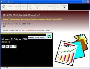 Aplikasi Kearsipan PNS (Surat Masuk Dan Surat Keluar) BONUS Aplikasi Absensi 1Shift+Penggajian
