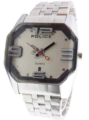 POLICE VECTOR OCTAGONAL (WHITE)