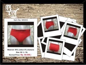 Men's Underwear / Celana Dalam Pria Calvin Klein Brief - Red
