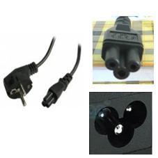 Kabel Adaptor Lubang 3 cocok untuk Laptop (Notebook / Netbook)