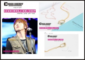 CN.BLUE Jung Yong Hwa - Cubic Headset Necklace