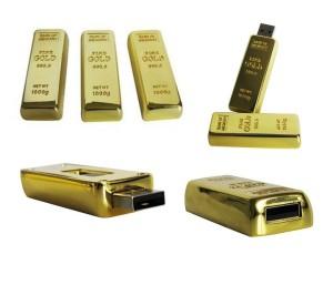 Barang unik - USB Gold