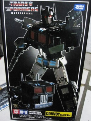Takara Tomy Masterpiece MP-01B Black Optimus Prime