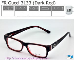 FR Gucci 3133 (Dark Red)